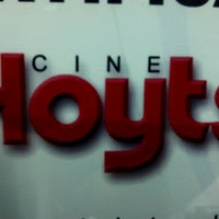 Photo taken at Cine Hoyts by Aarón Ignacio S. on 9/27/2012