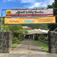 Photo taken at Manoa Valley Theatre by Ryan O. on 8/1/2016