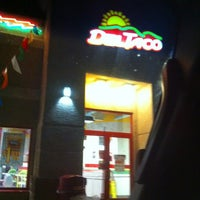 Photo taken at Del Taco by May A. on 12/15/2012