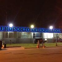 Photo taken at Aeroporto de Dourados (DOU) by Akira on 12/27/2012