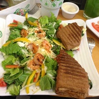 Photo taken at Super Salads by Victor S. on 12/22/2012