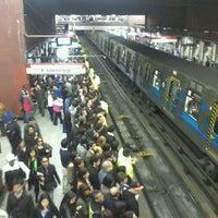 Photo taken at Metro Baquedano by Deborah N. on 10/16/2012