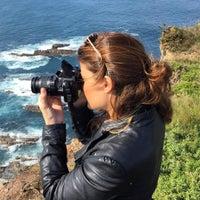 Photo taken at Faro de Cabo Vidio by Danae on 10/11/2015