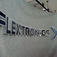 Photo taken at Flextronics Guadalajara Campus Norte by Cesar R. on 10/4/2012