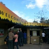 Photo taken at The Living Desert Zoo & Botanical Gardens by leTASHA marie on 12/29/2012