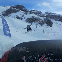 Photo taken at Xperia Ischgl Snowpark by Philip D. on 3/8/2013