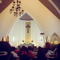 Photo taken at Gereja Katolik Katedral Santa Perawan Maria Dari Gunung Karmel by AGUSTINUS R. on 6/12/2016
