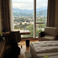 Photo taken at Four Points by Sheraton Panoramahaus Dornbirn by Ernö T. on 6/4/2014