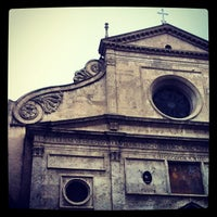 Photo taken at Basilica di Sant'Agostino in Campo Marzio by Giacomo B. on 11/27/2012