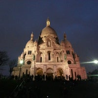 Photo taken at Basilique du Sacré-Cœur de Montmartre by Wilfred B. on 3/27/2013