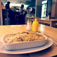 Photo taken at Toros Pizza by Mari M. on 10/24/2012