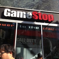 Photo taken at GameStop by Ninja Rael on 10/5/2012