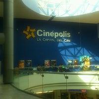 Photo taken at Cinépolis by Francisco L. on 3/31/2013