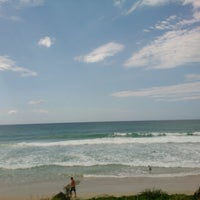 Photo taken at Nobby Beach by Kate M. on 3/31/2013