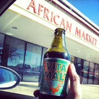 Photo taken at African Market by Corey M. on 3/2/2013