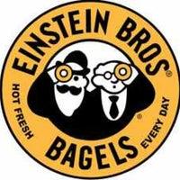 Photo taken at Einstein Bros Bagels by Erik S. on 7/23/2013