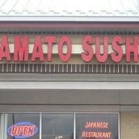 Photo taken at Yamato Sushi by Kim G. on 1/30/2013