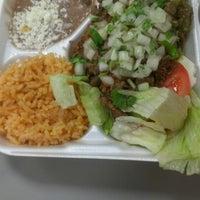 Photo taken at Tacos El Gavilan by Leticia on 10/8/2012