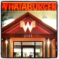 Photo taken at Whataburger by Manny V on 7/21/2013
