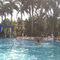 Photo taken at Skybar at Shore Club by Alya S. on 12/25/2012