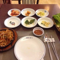 Photo taken at Auntie Kim's Korean Restaurant by Ted Patrick B. on 9/2/2014