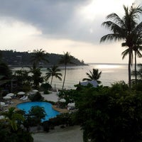 Photo taken at Haadlad Prestige Resort And Spa Koh Phangan by Evgeniy A. on 3/7/2013