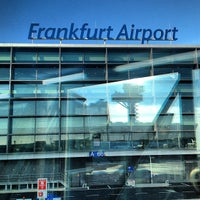 Photo taken at Frankfurt Airport (FRA) by Scott B. on 2/10/2013