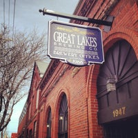 Photo taken at Great Lakes Brewing Company by Joel B. on 4/4/2013