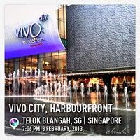Photo taken at VivoCity by LoonieLiz on 2/3/2013
