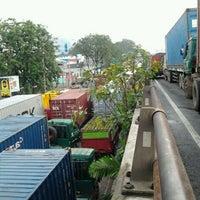Photo taken at Pelabuhan Tanjung Priok by Adrianto Sugiarto W. on 7/13/2013