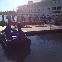 Photo taken at Inner Harbor Paddle Boat Dock by Kris A. on 11/5/2011