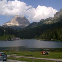 Photo taken at Lago di Misurina by Enrico on 8/22/2012