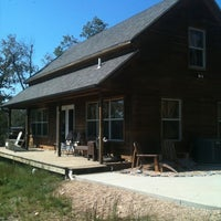 Photo taken at The Cabin At Beaver Lake by Faye K. on 10/7/2011