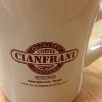 Photo taken at Cianfrani Coffeehouse by Gary S. on 5/7/2012