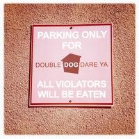 Photo taken at Double Dog Dare Ya' by Pamela D. on 8/24/2011