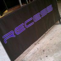 Photo taken at Recess Lounge by Jason B. on 8/20/2011
