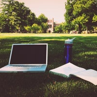 Photo taken at South Oval by Ashley W. on 6/27/2012