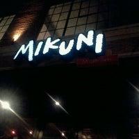 Photo taken at Mikuni by Natassja P. on 1/22/2012