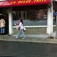 Photo taken at La Belge Frite by Nicolas Y. on 9/9/2011