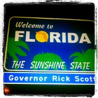 Photo taken at Florida Welcome Center (I-75) by Jessica Lee R. on 9/4/2012