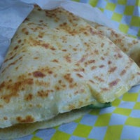 Photo taken at It's Just Crepes by Cody B. on 10/28/2011