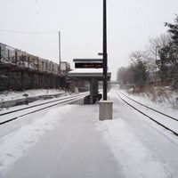 Photo taken at MBTA Porter Square Station by Dan G. on 1/21/2012