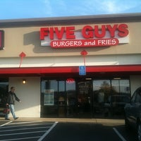 Photo taken at Five Guys by Daniele J. on 5/11/2011