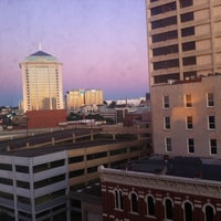 Photo taken at Hampton Inn & Suites Montgomery Downtown by Juan Diego G. on 10/1/2011