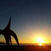 Photo taken at Olympic Sculpture Park by Nikki O. on 5/8/2011