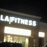 Photo taken at LA Fitness by Lynda B. on 7/18/2012