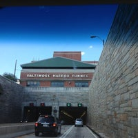 Photo taken at Baltimore Harbor Tunnel by Tisha J. on 8/12/2012
