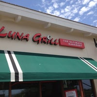 Photo taken at Luna Grill by Chris K. on 7/31/2012