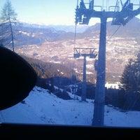 Photo taken at Intermedia Funivia Alpe Cermis by MarketingProfesszorok.hu M. on 1/26/2012