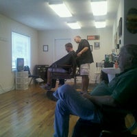 Photo taken at Marshall's Barber Shop by William B. on 8/16/2011
